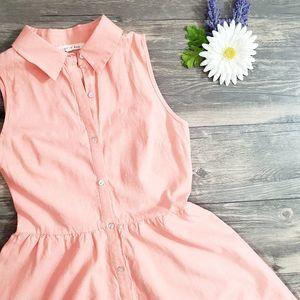 Copper Key Sleeveless 100% Cotton Dress